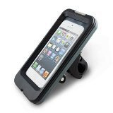 iHome Waterproof Bike Mount-Mount for iPhone5/5s - Retail Packaging - Black