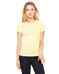 Special Yellow T-shirt - Bella + Canvas Womens 4.2 oz. Favorite T-Shirt (6004) -YELLOW -M