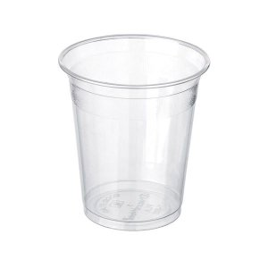 PacknWood PLA Clear Plastic Cup, 7 oz. Capacity (Case of 2000)