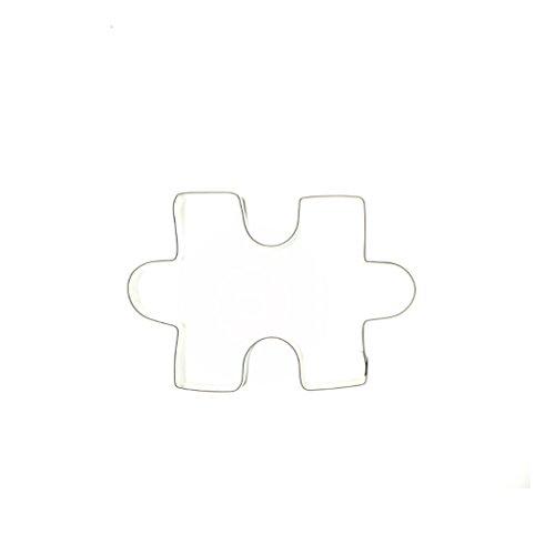 Rompecabezas forma cortador de galletas cortador de sándwich de acero inoxidable para niños adultos: Amazon.es: Hogar