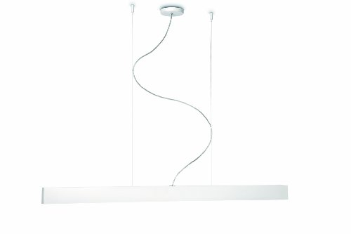Philips 40341/31/48 Ecomoods Energy Efficient Suspension Light, White - Light Linear Suspension