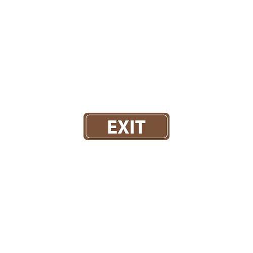 Nmc Rectangular Acrylic Signs - Exit