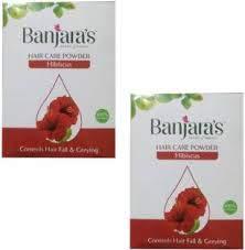 BANJARAS HAIR CARE HIBISCUS POWDER 100g PACK OF 2