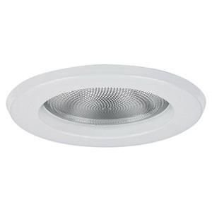 - Lytecaster Lens Free Wet Location Reflector Trim Finish: Gloss White