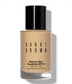 Bobbi Brown Moisture Rich Foundation Spf 15 - Warm Almond, 1.00 Oz