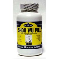Dr. Shen's Shou Wu Youthful Hair Pill -- 700 mg - 200 Tablets (Shou Wu Hair)