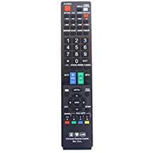 (Sharp GB004WJSA Universal Remote Control for All Sharp BRAND TV, Smart TV - 1 Year Warranty)