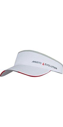 (Musto Evolution Race Visor - White One Size)