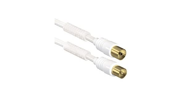 Cable de conexión coaxial SAT, Coaxial a conector de antena ...