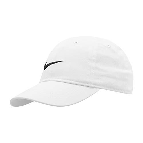 NIKE Children's Apparel Kids' Little Classic Twill Basball Hat, White, O/S ()