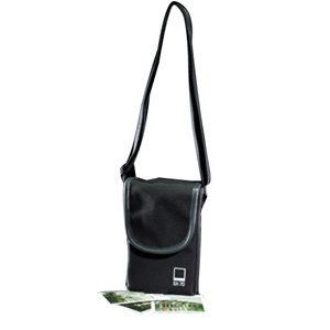 Black Label Bag SX-70 Polaroid Two Compartment Pouch Compatible with Instax (Sx 70 Sonar)