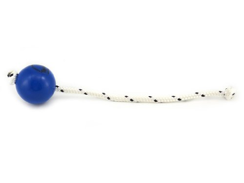 Image of Top-Matic Soft Blue Fun-Ball with Rope