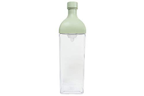 Hario Ka-Ku - Botella de té (1200 ml), color verde ahumado