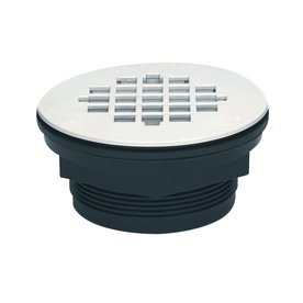 ABS NO-CALK FIBERGLASS SHOWER BASE DRAIN