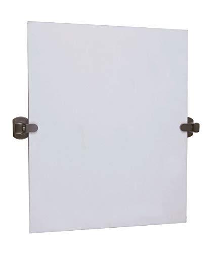 Design House 560961 Millbridge Square Pivot Mirror, Oil Rubbed -