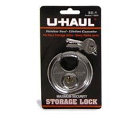 u haul brand storage lock home improvement. Black Bedroom Furniture Sets. Home Design Ideas