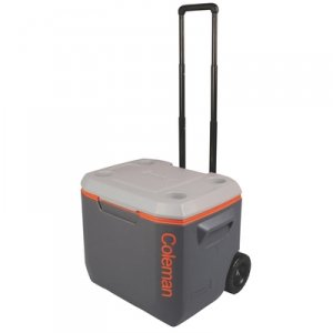 Side Handles for Controlled Carrying | Coleman 50 Qt. Extreme 5 Wheeled Cooler by Side
