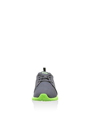 Puma Carson Runner Canvas Schuhe asphalt-green gecko-white - 40