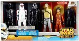 Star Wars Rebels Exclusive 12 Inch Action Figure 6-Pack Heroes and ()