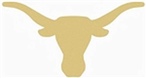 - Longhorn Cutout Unfinished Wood Texas Cattle Ranch Steer Cow Horns MDF Shape Canvas Style 1 (6