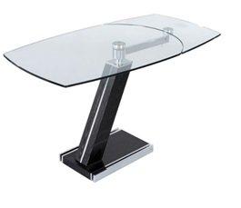 SHINE MOUNT Mueble de Cristal para Mesa pequeña, Mesa de Mesa de ...