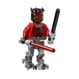 LEGO Star Wars Minifigure - Darth Maul Cyborg with Darksaber Lightsaber (75022) (Darth Maul Lego Figure)