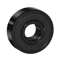 RITALIN ABEC-7 BLACK BEARINGS