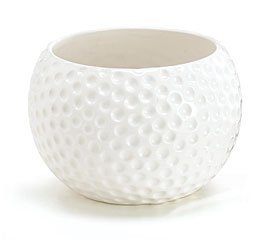 - Large Ceramic Golf Ball Container - Use as a Planter, Candy Dish or Gift Basket! by Burton & Burton