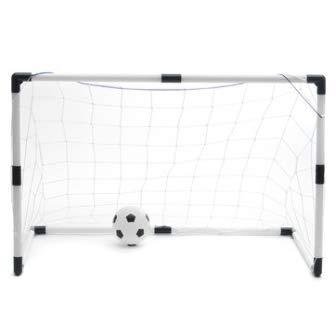 2 Mini Set Football Goal + Ball + Pump Kids Outdoor Sport Training Soccer Net Generic