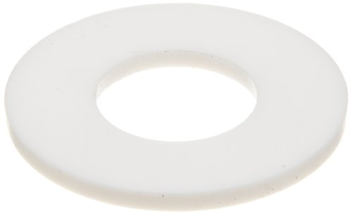 PTFE Flange Gasket, Ring, White, Fits Class 150 Flange