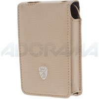 Lamborghini Deluxe Fitted Leather Case for the 60&80 GB Ipod, Beige. - Leather Deluxe Ipod Case