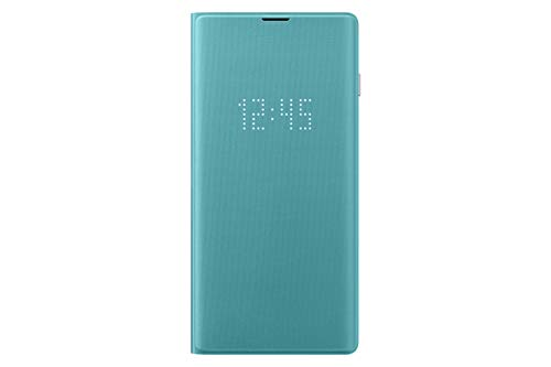Samsung Galaxy S10 LED Wallet Case, Green (Renewed)
