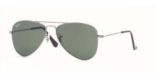 Ray Ban Junior RJ9506S Sunglasses-200/71 Gunmetal (Green - Repair Lens Ban Ray