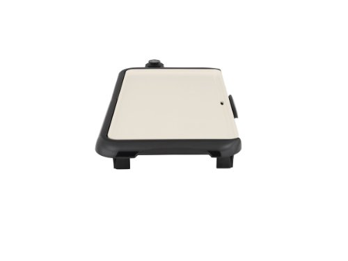 Oster Titanium Infused DuraCeramic Griddle with Warming Tray, Black/Crème (CKSTGRFM18W-TECO) by Oster (Image #13)