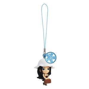 Bandai One Piece Log Memories Sea Bath Version Keychain Strap Figure ~1.5
