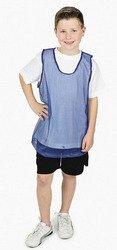 (12 Youth Nylon Mesh Scrimmage Jerseys - Blue Sport Pinnies)