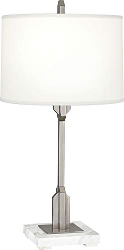 - Robert Abbey Empire Polished Nickel Accent Table Lamp