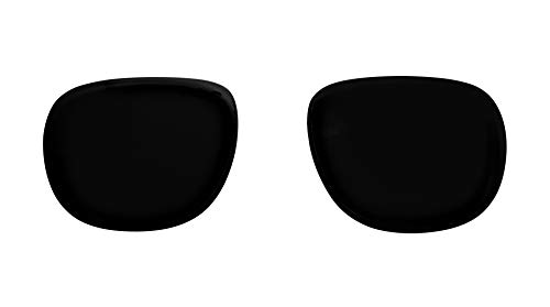 Replacement Polarized Black Lenses for Clubmaster RB3016 - OEM Quality - Size 51/21 (Pair of ()