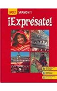 Amazon exprsate cuaderno de actividades student edition holt iexpresate level 1 student edition fandeluxe Image collections