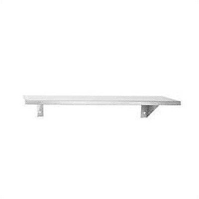 8'' Deep Stainless Steel Shelf Length: 30''