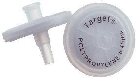 F2513-10 - Target Syringe Filters, Polypropylene, National Scientific - Syringe Filters - Case of 500