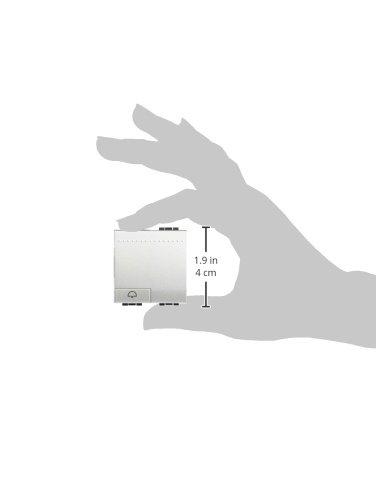 nt4042m2n pulsador ilum livinglight Ref Bticino campana 2mod 6572520047