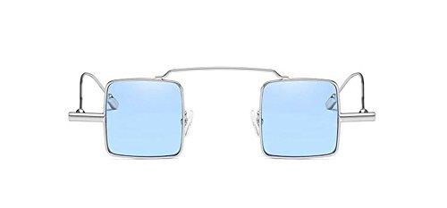 du cercle style soleil en Film inspirées métallique Bleu polarisées Lennon rond retro lunettes de vintage vR5CqHI
