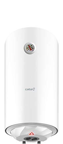 Cata | Termo eléctrico 50 L | Calentador de agua modelo CTR-50-M | Instalación vertical | Tanque esmaltado al titanio…