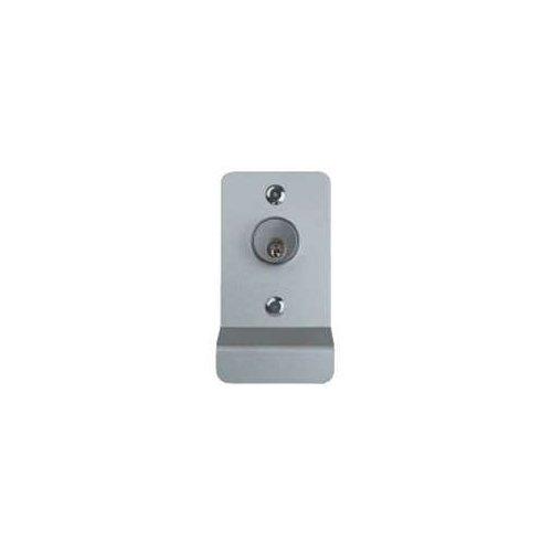 Detex 03P628 03 P 628 Key Retract Latch Aluminum Finish, Steel, Brass, Stainless Steel, Bronze