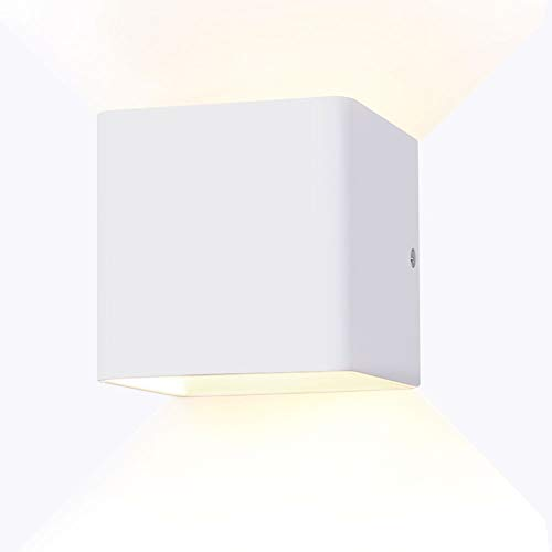 (YISSVIC Wall Sconces Wall Lights LED 5W Aluminum Up and Down Design 2700K Warm)