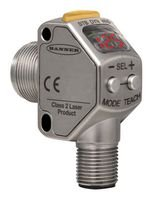 Contrast Sensor, Laser, Q3X Series, 300 mm, Bipolar, NPN / PNP, M12 Connector