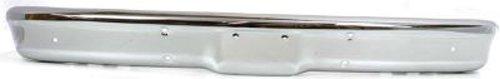 (Crash Parts Plus Chrome Steel Front Bumper for Chevy GMC Blazer Jimmy, Pickup, Suburban GM1002350)