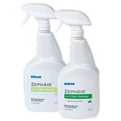 Zoom Supply Ecolab Zephair Mountain Mist Air Freshener, Commercial-Grade Ecolab Zephair Room Freshener -- Blasts Horrid Foul Odors Faster by Ecolab