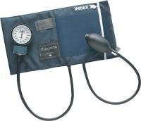 DSS Mabis Adult PRECISION Aneroid Sphygmomanometers with Blue Nylon Cuff, Large